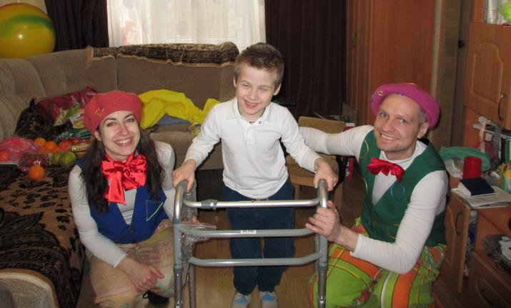 Программа индивидуальной помощи 55 детям-инвалидам из 12 районов города